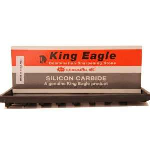 King Eagle Silicon Carbide Combination Stone with Free Rubber Non Slip