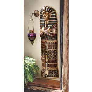 47 Classic Egyptian Mummy Statue King Tut Sarcophagus Wall Sculpture