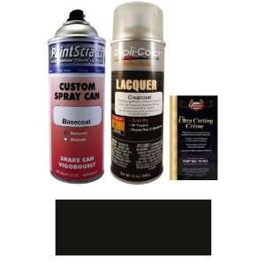 12.5 Oz. Black (Wheel) Spray Can Paint Kit for 2007 Chevrolet Kodiak