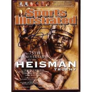 Eddie George signed autographed Sports Illustrated Ohio