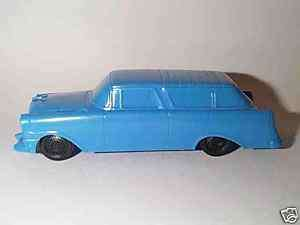 PROCESSED PLASTIC 1950S CHEVY NOMAD STATION WAGON CAR