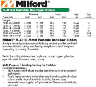 Portaband Bi Metal Portable Bandsaw Blade 14/18 TPI x 5