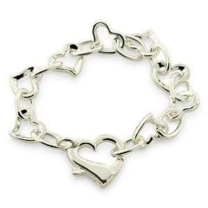 Designer Inspired Elsa Peretti Sterling Silver Open Heart