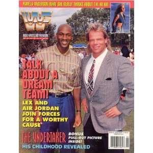 Wrestling Magazine  Michael Jordan and Lex Luger (1995) WWE Books