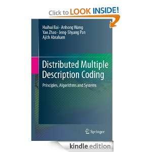 Distributed Multiple Description Coding: Principles, Algorithms and