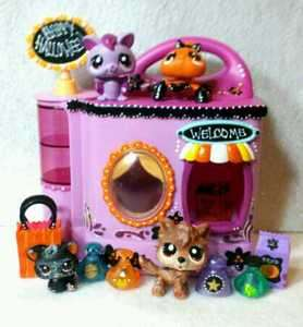 Potions And Pets Shop * Halloween Lot * OOAK Custom Littlest Pet Shop
