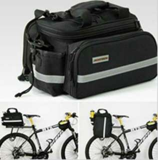NEW Multi Cycling Bike Travel Bicycle Rear Seat Pannier shoulder Bag