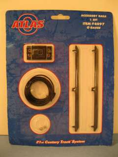 Atlas O Track #6097 O Scale Accessory Rails 1 Set