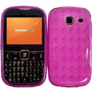 Hot Pink TPU Case Cover for Samsung Freeform III Comment