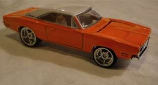 HOT WHEELS 69 DODGE CHARGER WITH REAL RIDERS MINT LOOSE