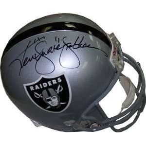 Ken Stabler Autographed/Hand Signed Raiders Full Size