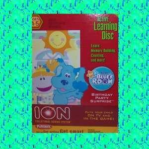 NIB Playskool Ion Learning Center Blues Clues Room Game