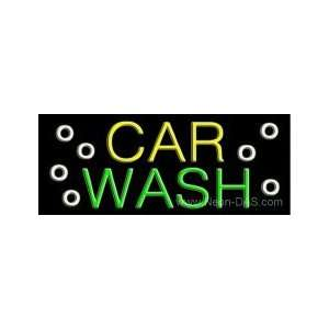 Car Wash Neon Sign 13 x 32