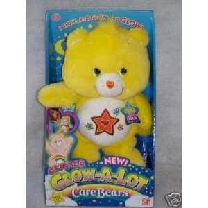 Care Bears Glow in the Dark Super Star Bear 12  Plush