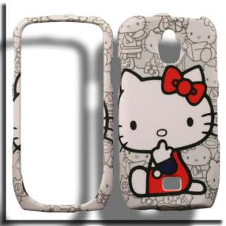 Case for Samsung Exhibit 4G SGH T759 T Mobile Hello Kitty Cover Skin B