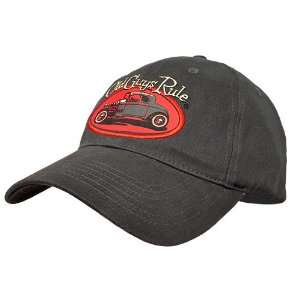 Old Guys Rule Rat Rod Charcoal Cap