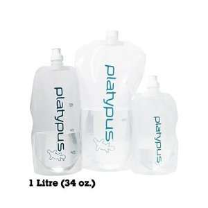 PLATYPUS Platy Water Bottle, 1 L: Sports & Outdoors