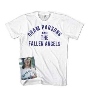 Gram Parsons Fallen Angels retro vintage t shirt