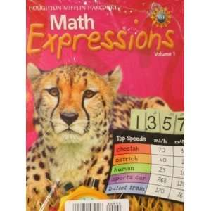 Math Expressions, Grade 5 Student Activity Book Set Houghton