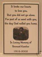 Personalized Memorial Funeral Seed Packets Cards