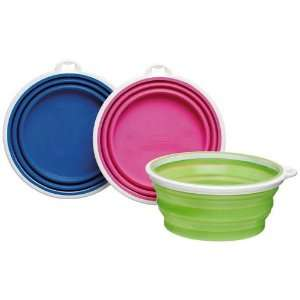 Pop Up Silicone Travel Bowl   3 Cup