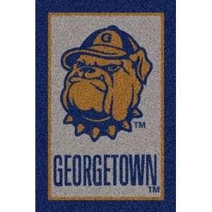 Georgetown Hoyas 4 x 6 Team Door Mat:  Sports & Outdoors