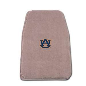 Fit Front Two Piece Floormat with NCAA Auburn Logo Automotive