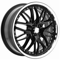Inch Menzari Z01 Black Wheels Rims Mustang Crown Victoria Five Hundred