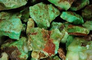 2,268 Carat Lots of Natural Green Chrysoprase   Over 1 Pound Each