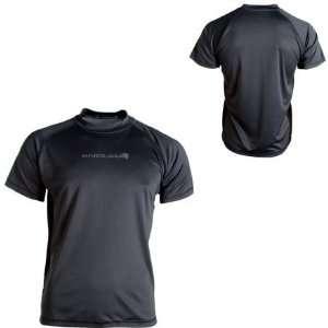 Endura Cairn Jersey   Short Sleeve   Mens Grey/Black, XXL