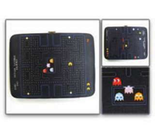 PACMAN Wallet Lady Bi Fold NEW  Pac Man/Map/Ghost
