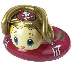 San Francisco 49ers 24 Toddler Mascot Pool Float/Inner Tube   NFL