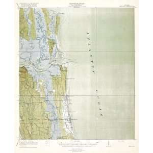 USGS TOPO MAP MAYPORT QUAD FLORIDA (FL) 1918 Home