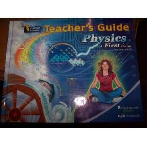 Physics A First Course (Teachers Guide Florida Edition