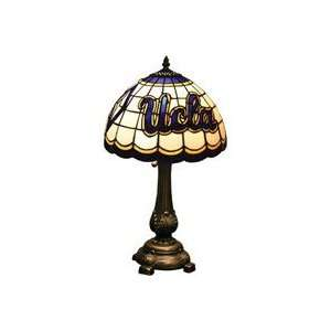 NCAA California Los Angeles Bruins Stained Glass Table Lamp   Delivery