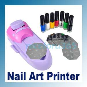 Nail Art DIY Print Color Polish Printing Stamp Machine