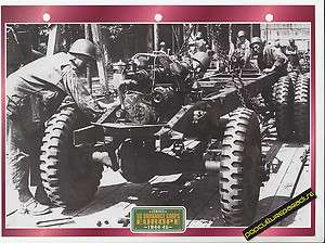 US ORDNANCE CORPS EUROPE 1944 45 WW2 TRUCK PHOTO SHEET