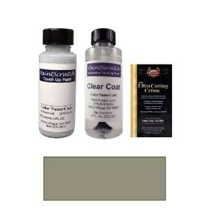 2 Oz. Lunar Gray Metallic Paint Bottle Kit for 2009 Jaguar