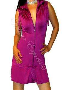 M36   $118 MARCIANO Guess OPHELIA Top SILK Zipper DRESS