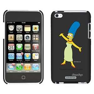 Marge Simpson on iPod Touch 4 Gumdrop Air Shell Case