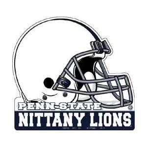 STATE NITTANY LIONS FOOTBALL HELMET DIE CUT PENNANT