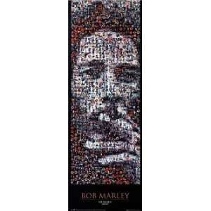 BOB MARLEY RASTA MOSAIC DOOR POSTER 21X 62 #DP19 Home