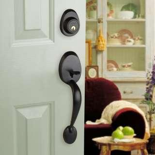 Front Door Entry Set Lock Oil Rubbed Bronze Sierra Knob