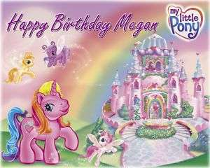 My Little Pony Frosting Sheet Edible Cake Topper