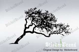 Vinyl Wall Decal Sticker Leaning Tree Cover 6ftX10ft