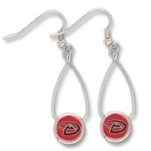 MLB Arizona Diamondbacks French Loop Earrings