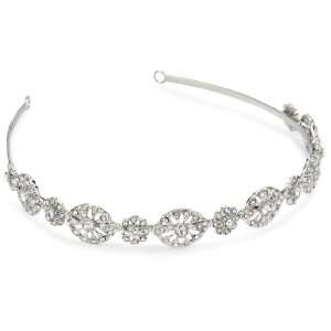 Nina Bridal Michaela Swarovski Crystal Headband Jewelry
