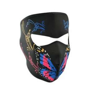 Neoprene Butterfly Design Full Face Mask