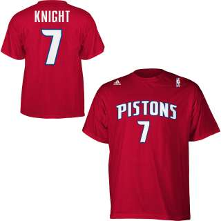 adidas Detroit Pistons Brandon Knight Gametime T Shirt