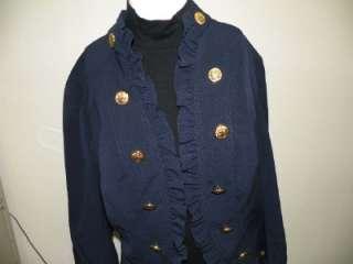 Large JOHN PAUL RICHARD Nautical Jacket Women NWT$68